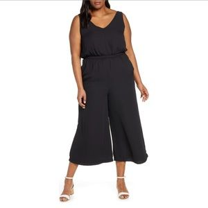 Gibson Black Wide Leg Jumpsuit Size 3X NWT 48